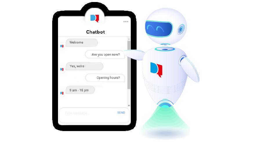 chatbot evoluto per siti web